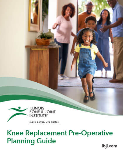 Knee Replacement Pre-Operative Planning Guide by IBJI (cover)